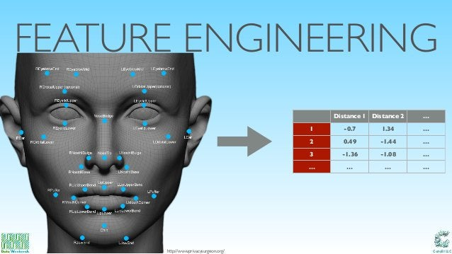Catalit LLC FEATURE ENGINEERING http://www.privacysurgeon.org/ Distance 1 Distance 2 … 1 -0.7 1.34 … 2 0.49 -1.44 … 3 -1.3...