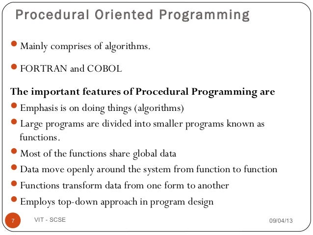 1 intro object oriented programming