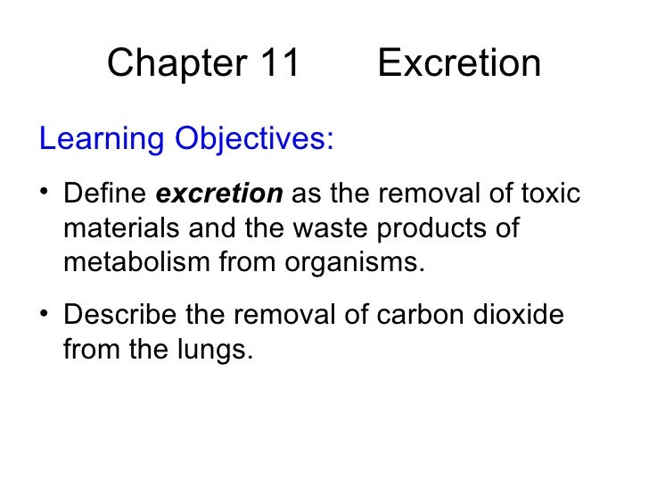 what is a waste product of metabolism