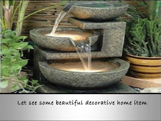 Home decorative items for Decorative things
