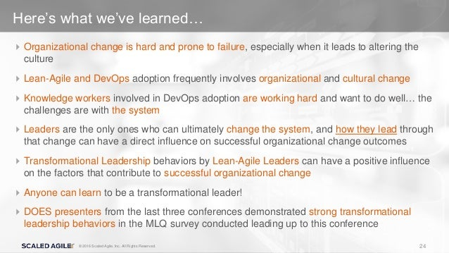 mlq transformational leadership