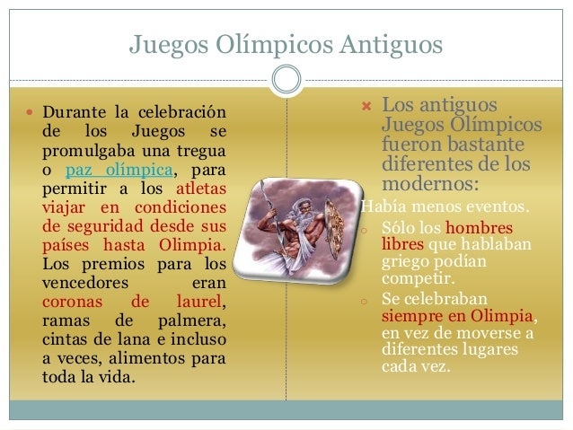 Power Point De Los Juegos Olimpicos En La Antigua Grecia