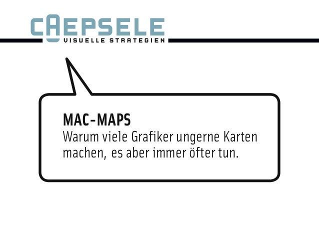 MAC-MAPSWarum viele Grafiker ungerne Kartenmachen, es aber immer öfter tun.