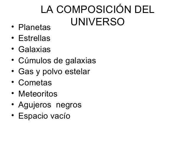 La Tierra en el Universo Slide 3