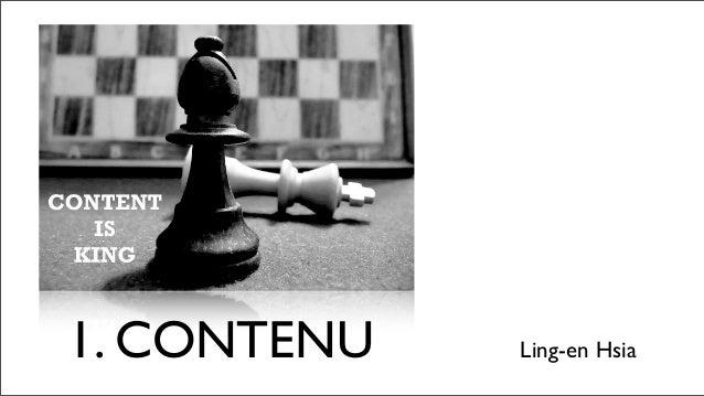1. CONTENU   Ling-en Hsia