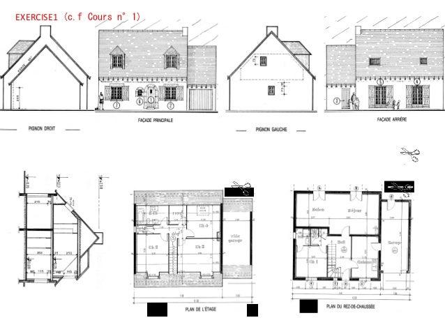 lecture des plans architecturaux