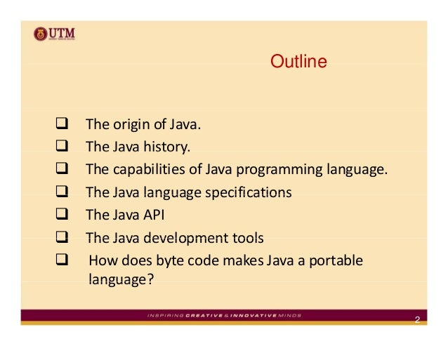 an analysis and history of the computer languages java and c A programming algorithm is a computer procedure that is a lot like a recipe (called a procedure) and tells your computer precisely what steps to take to solve a problem or reach a goal.