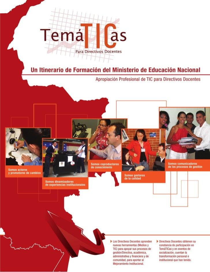 Créditos de RealizaciónMinistra de Educación NacionalCecilia María Vélez WhiteViceministra de Educación Básica y MediaIsab...