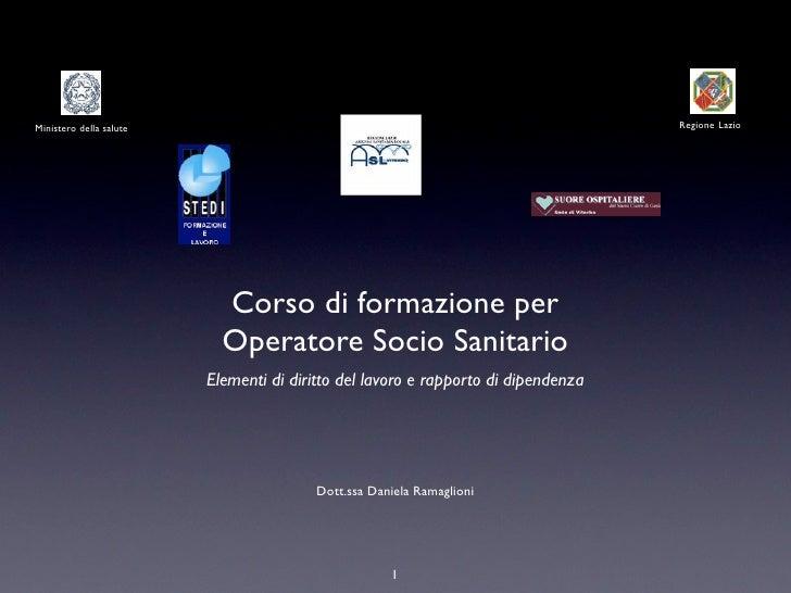 Ministero della salute                                                             Regione Lazio                          ...