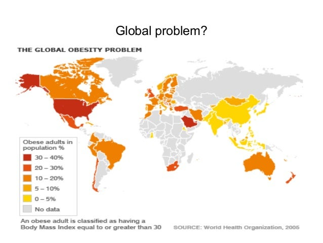 the global problem of obesity Reproduced from: obesity: preventing and managing the global epidemic, 2000, who, geneva as the relationship between waist circumference and body fat differs with age and between ethnic.