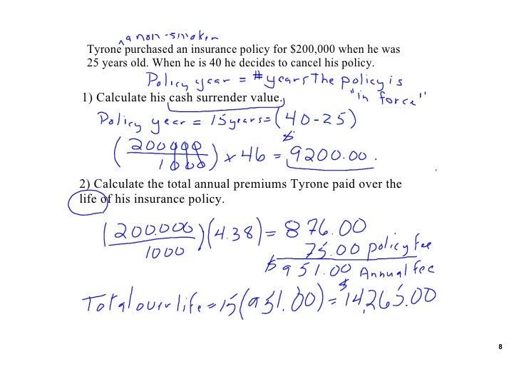 1 life insurance lesson feb 17