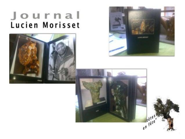 Extrait du Livre exposition Lucien Morisset Musée de Saint-Paul-de Vence   Jean-Bernard  Barsamian Slide 2