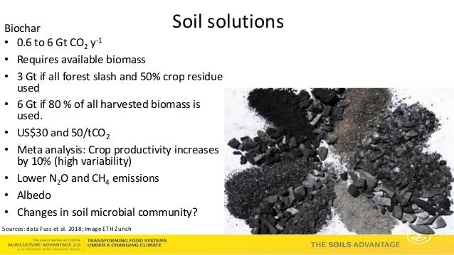 Soils Advantage: Soil Carbon Benefits - Louis Verchot, CIAT/WLE
