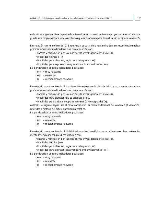 49Primer Año Medio Artes Visuales Ministerio de Educación Anexo 1: Guía para la elaboración de proyectos investigación se ...