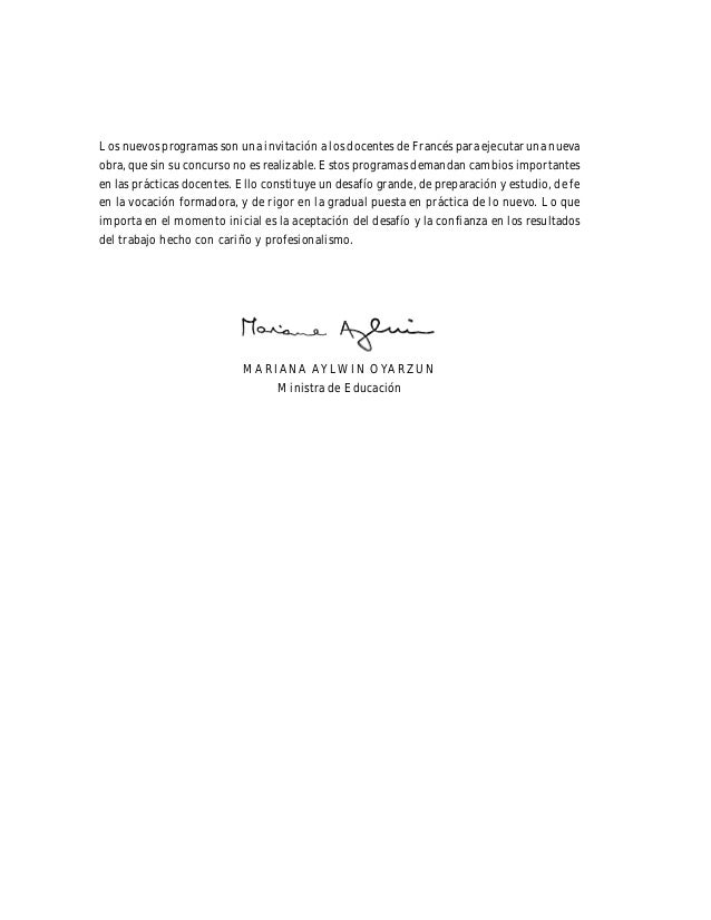 Francés Ministerio de Educación 7 Presentación 9 Las trayectorias de aprendizaje y de certificación 11 Orientaciones metod...