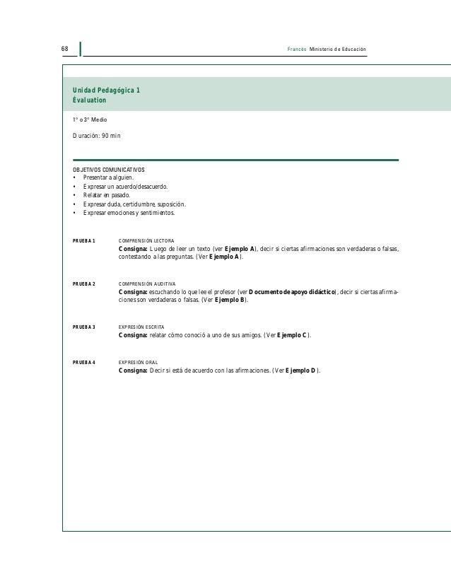 70 Francés Ministerio de Educación 2. À partir des informations du texte, répondez aux questions suivantes : a. À quel mom...