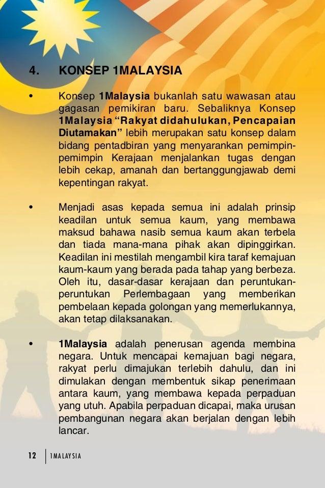 essay konsep 1 malaysia gagasan