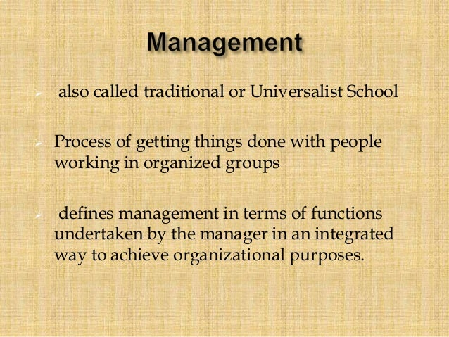 """henri fayol 5 functions of management essay Henri fayol was one of the first theorists to define functions of management in his  1916 book """"administration industrielle et generale"""" henri."""