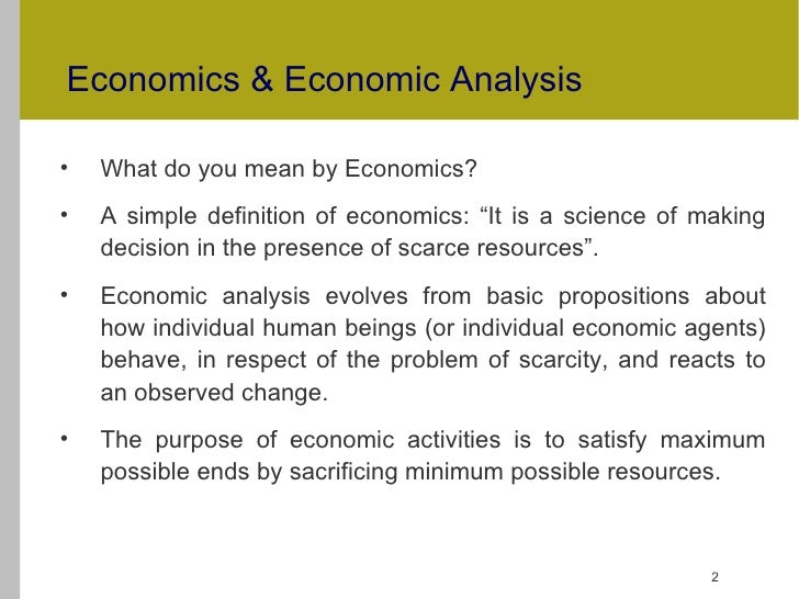 ends and means definition in economics