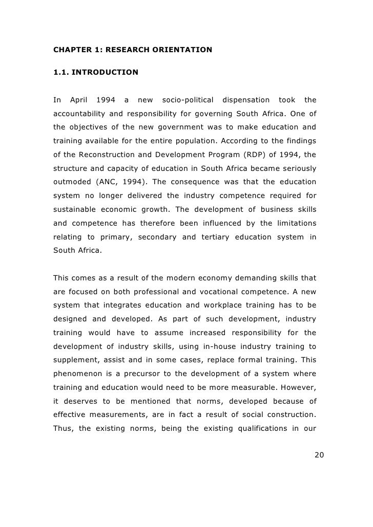 human capital management thesis