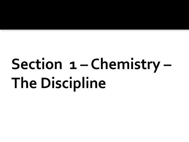 Chemistry Unit 1 PPT 1