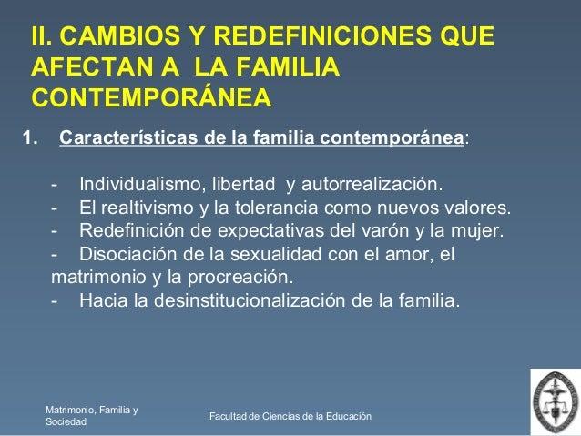 Matrimonio familia y sociedad valores en la familia for Caracteristicas de la contemporanea