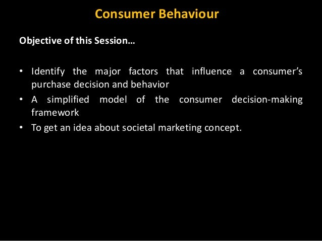 an introduction to the decision making proces a consumer goes through The classic decision making process, drawn from consumer behaviour every purchase goes through each step in this travel decision process incorporates.
