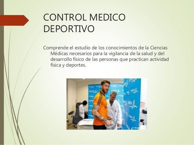 Modulo Medicina deportiva en el futbol
