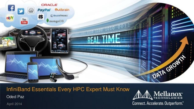 © 2014 Mellanox Technologies 1- Mellanox Confidential - Oded Paz April 2014 InfiniBand Essentials Every HPC Expert Must Kn...