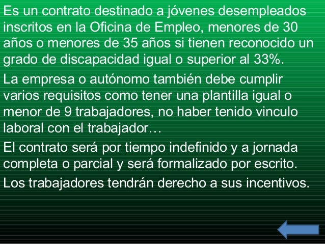 Contratos indefinidos for Plantilla de contrato indefinido