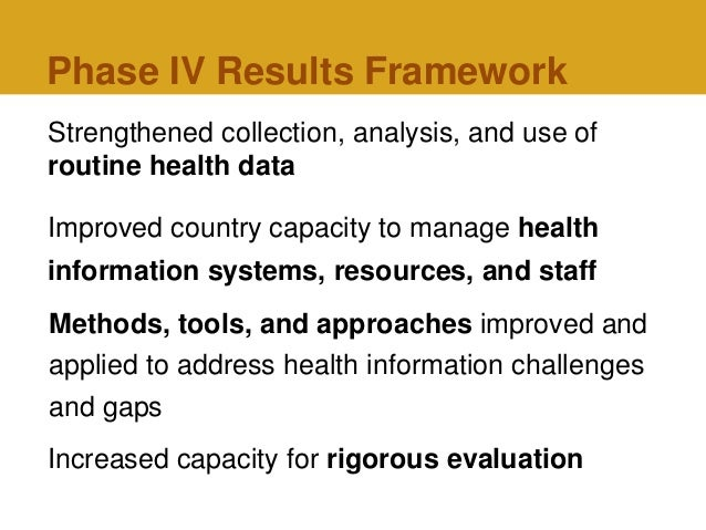 Improving Health Information Systems to Meet the Needs of ...