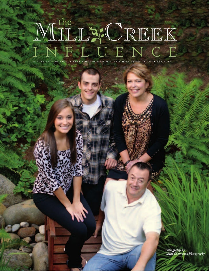 theMilloCreeki n f l u e n c ea publication exclusively for the residents of mill creek • october 2011                    ...