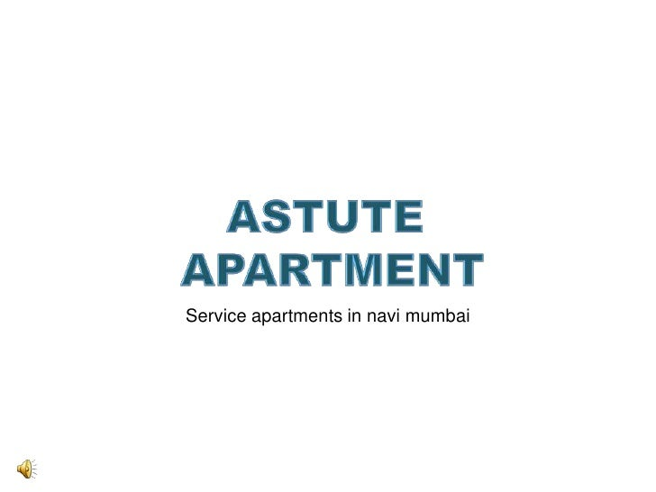 Service apartments in navi mumbai