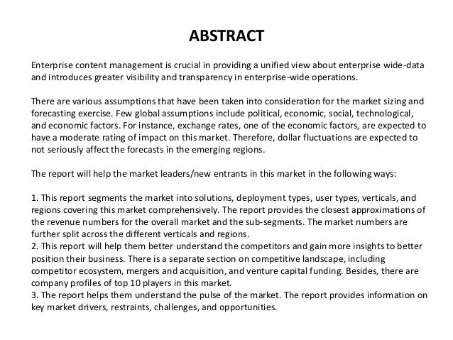 ABSTRACT Enterprise content management is crucial in providing a unified view about enterprise wide-data and introduces gr...
