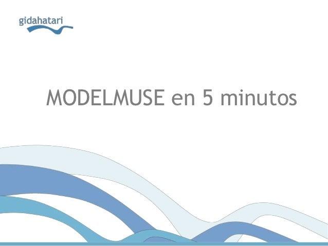MODELMUSE en 5 minutos