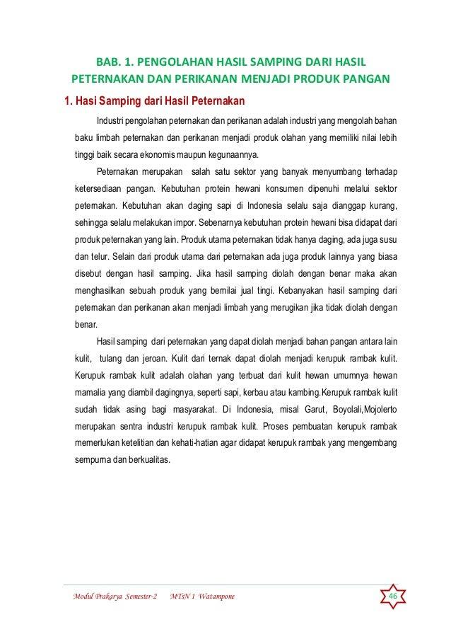 Modul Prakarya Kelas Ix Sem 2