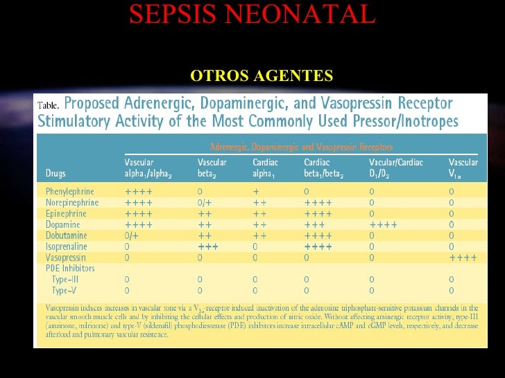 SEPSIS NEONATAL OTROS AGENTES