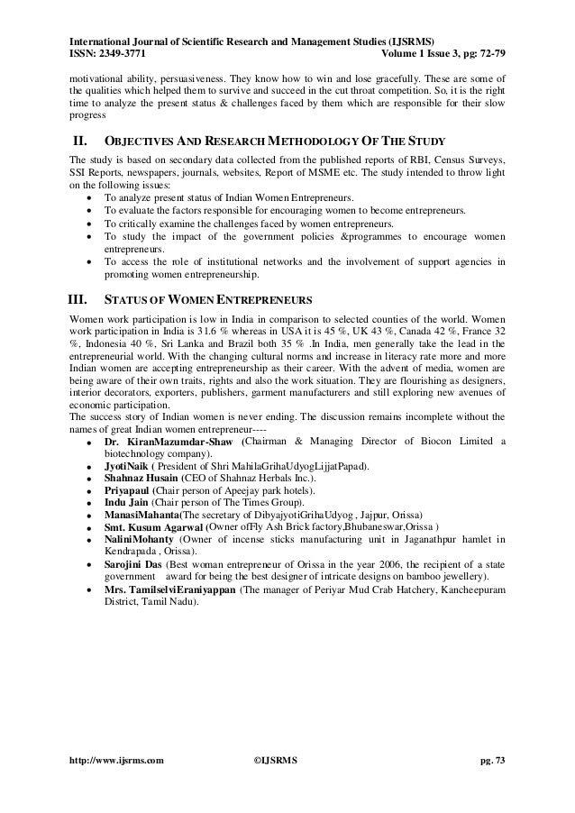 woman entrepreneur introduction pdf