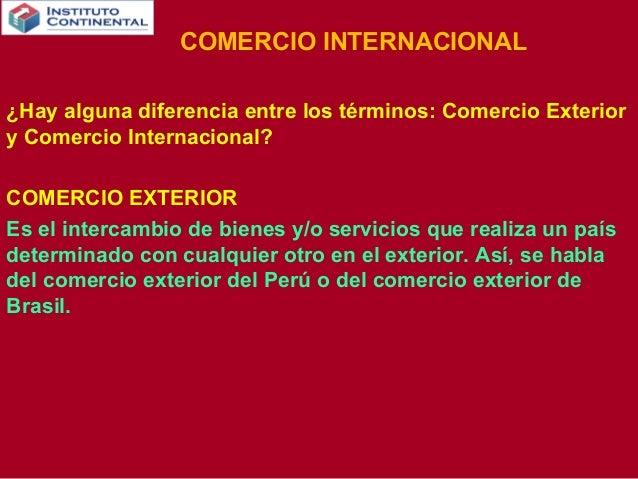1 negocios internacionales 1ra sesi n for Comercio exterior que es