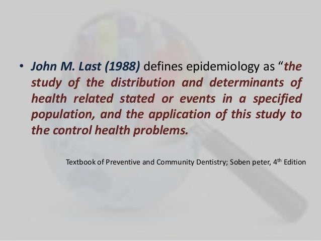 epidemiology of periodontal disease pdf
