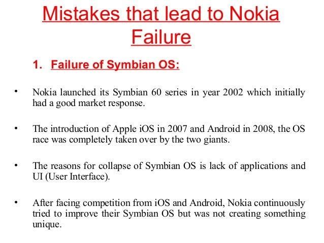 nokias failure