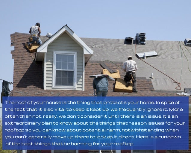 The roof of your house is the thing that protects your home. In spite of the fact that it's so vital to keep it kept up, w...