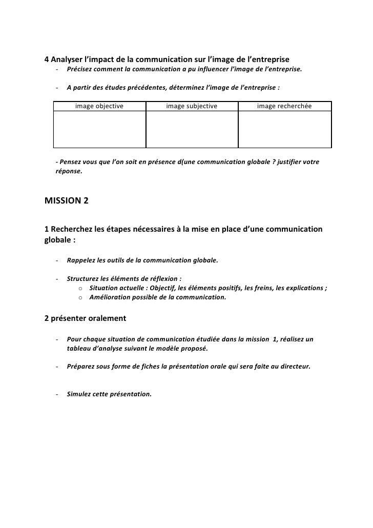 1 Observer Les Situations De Communication Externe Slide 2