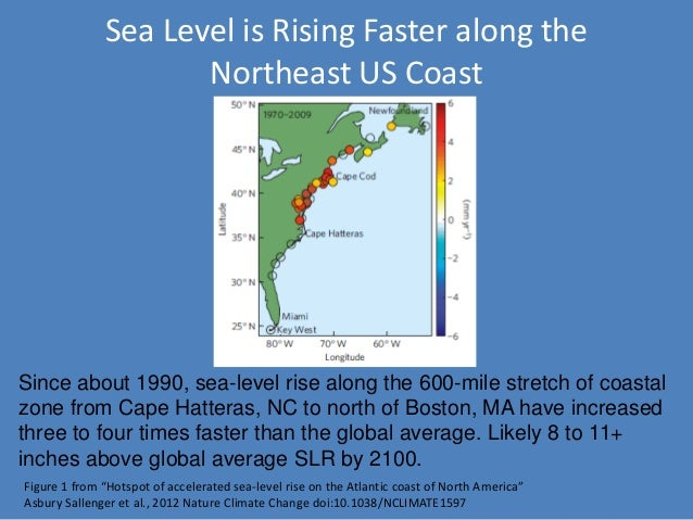 Sea Levels Affecting Marshes Model Using SLAMM To Conserve Rhode Isla - Coastal wetlands map us