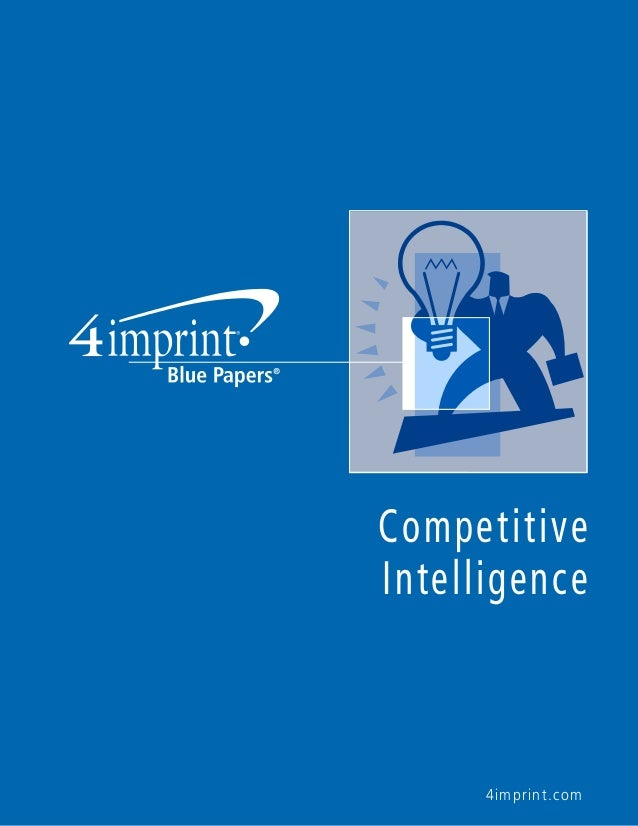 Competitive Intelligence  4imprint.com