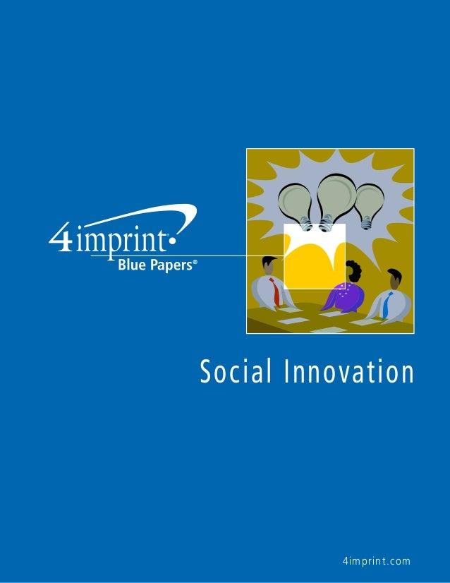 4imprint.com Social Innovation