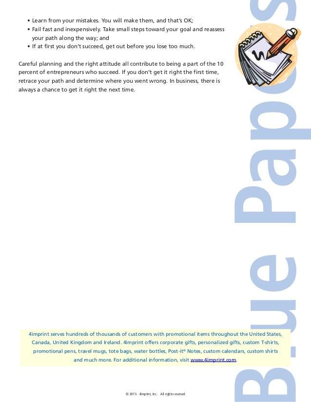Startups Blue Paper