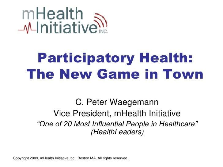 ParticipatoryHealth.Waegemann