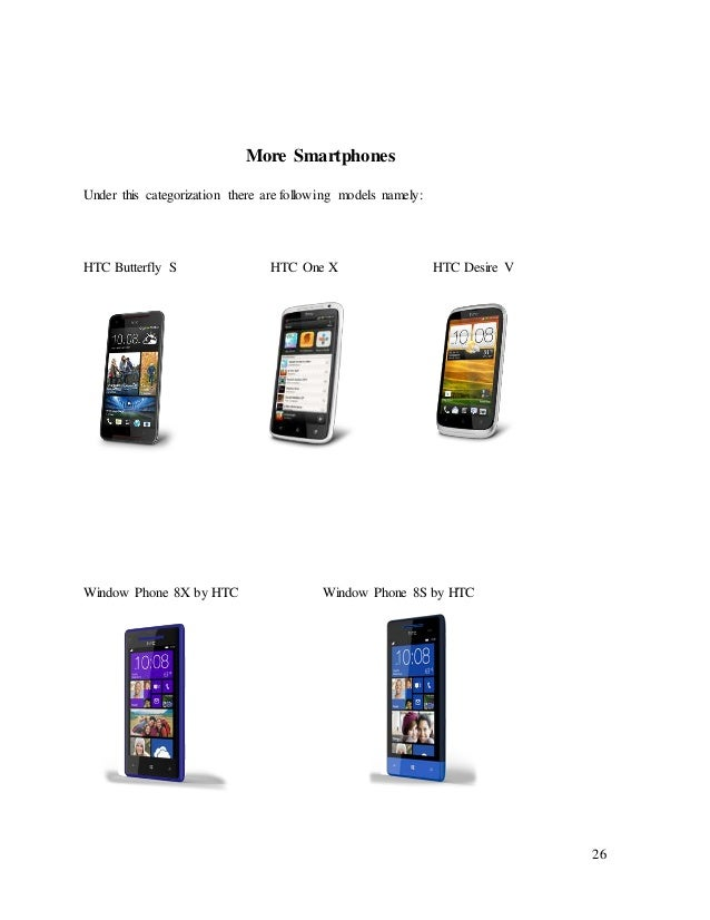 Parveen htc mobile project report full