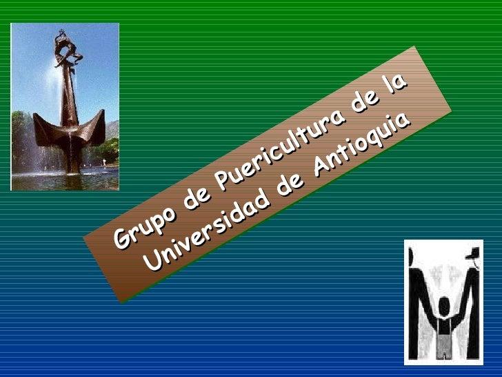 Grupo de Puericultura de la Universidad de Antioquia